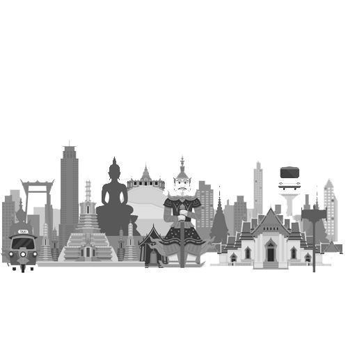 شهرهای کشور تایلند